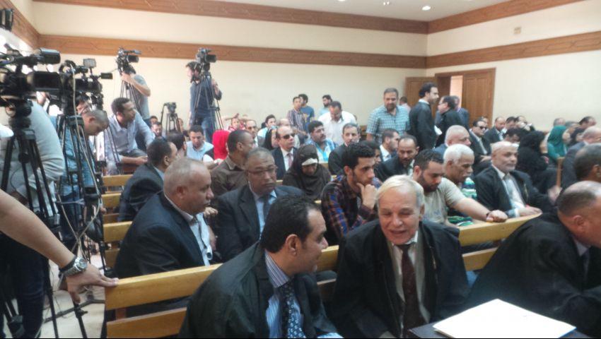 بالصور| جنايات القاهرة تسمح ببث الحكم في رشوة الزراعة