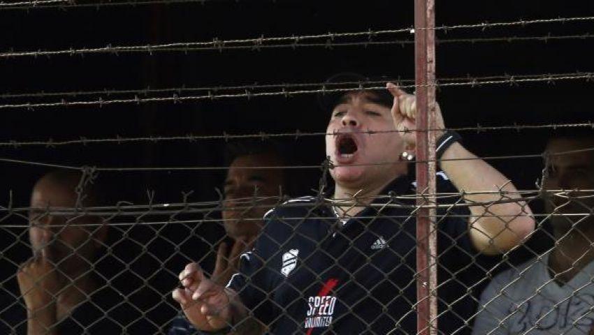 مارادونا يقاضي مذيعة شهيرة لحديثها عن طفله