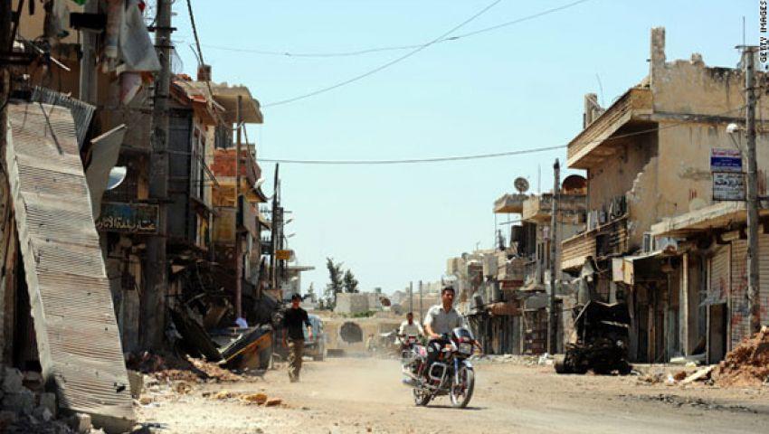 الصليب الأحمر: الوضع بمدينة المعضمية السورية خطير