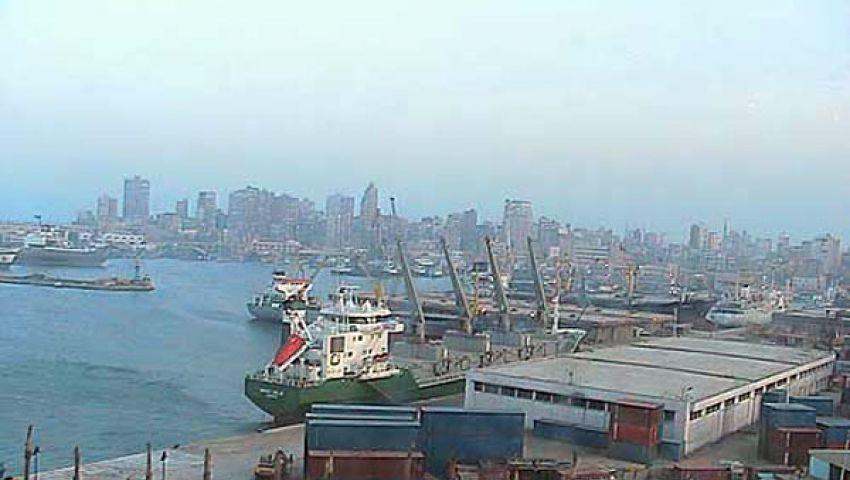 وصول 160 ألف طن حديد إلى ميناء الإسكندرية