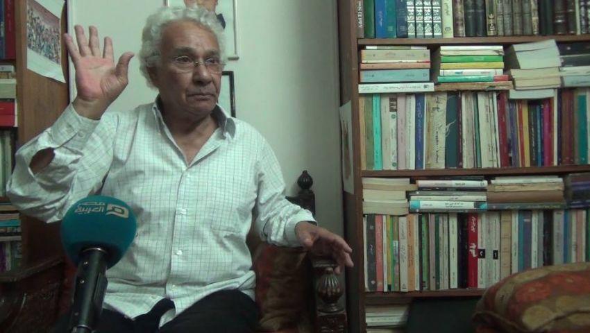 بالفيديو..القاص سعيد الكفراوي: الثقافة المصرية تخدم سلطة العسكر