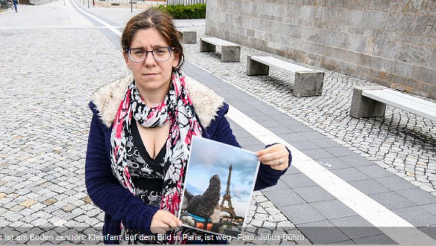 «فيل ضايع يا ولاد الحلال».. اختفاء دمية يدمر حياة امرأة ألمانية