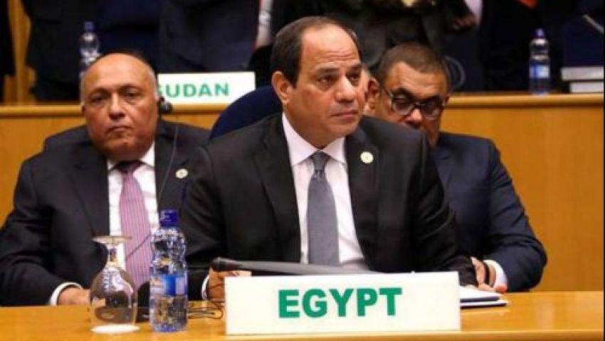 السيسي يتحدث عن حقوق الإنسان فى مصر.. شاهد ماذا قال