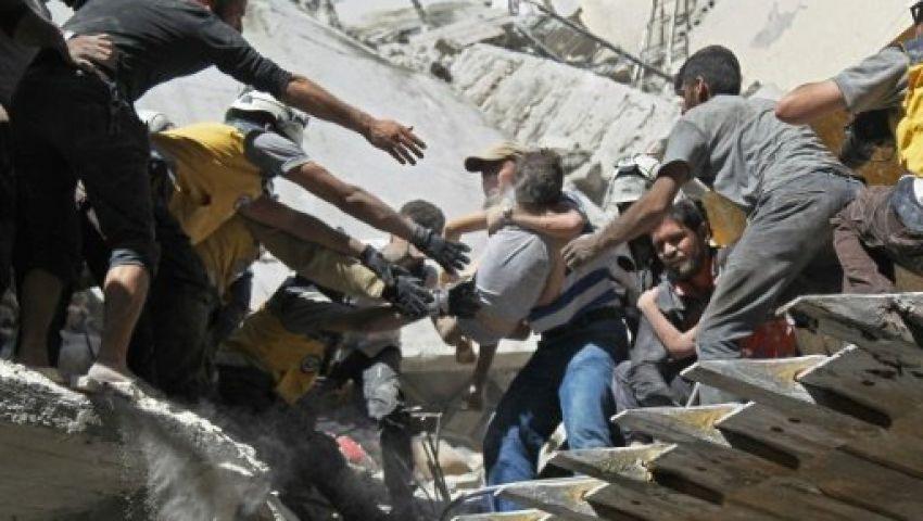 بغارات جوية على إدلب.. الأسد يهنئ السوريين بعيد الفطر