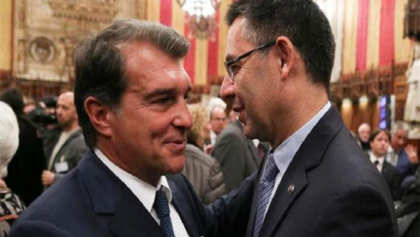 بالفيديو  بعد استقالة بارتوميو.. من هو رئيس برشلونة القادم؟