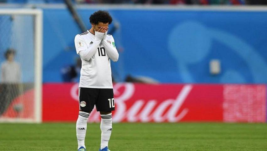 فيديو وصور| بعد الهزيمة من روسيا.. منتخب مصر أول المودعين المونديال