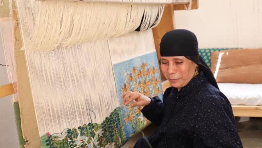في  قرية الحرانية «أيادي تتلف في حرير».. «رمسيس ويصا» فكرة رحل صاحبها وبقيت حية