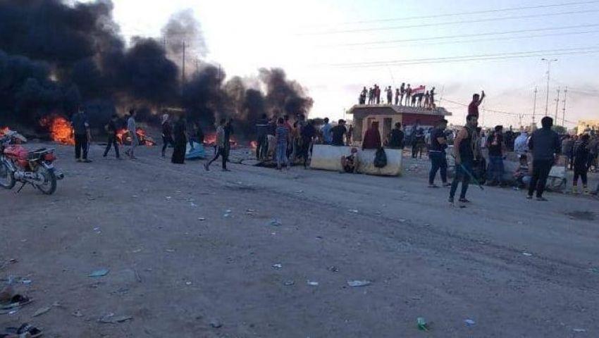 موانئ النفط على خط النار.. مظاهرات حاشدة في العراق ومطالب بوقف «القوة المفرطة»