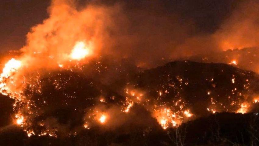 فيديو| اندلاع حريق ضخم جديد في لبنان