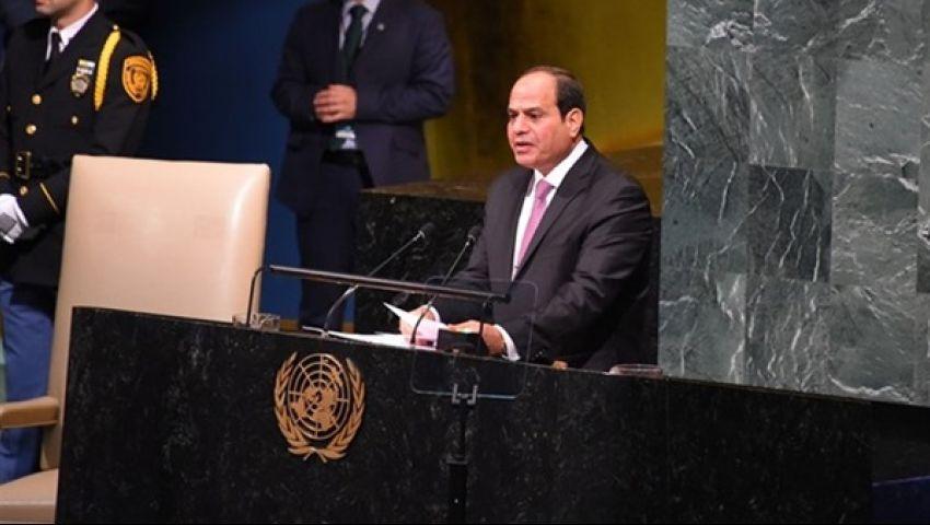 أبرزها الإرهاب والأوضاع الاقتصادية.. قضايا يناقشها السيسي في الأمم المتحدة