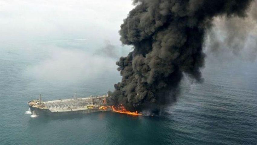 الجيش الإيراني يوضح سببًا محتملًا لانفجارات الناقلتين في خليج عمان