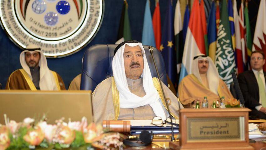 في أول زيارة من نوعها منذ سنوات.. أمير الكويت يصل إلى بغداد