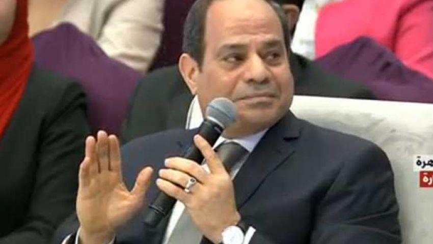 «أنا أمين ومخلص ومش زعلان».. أبرز تصريحات  السيسي للرد على الشائعات