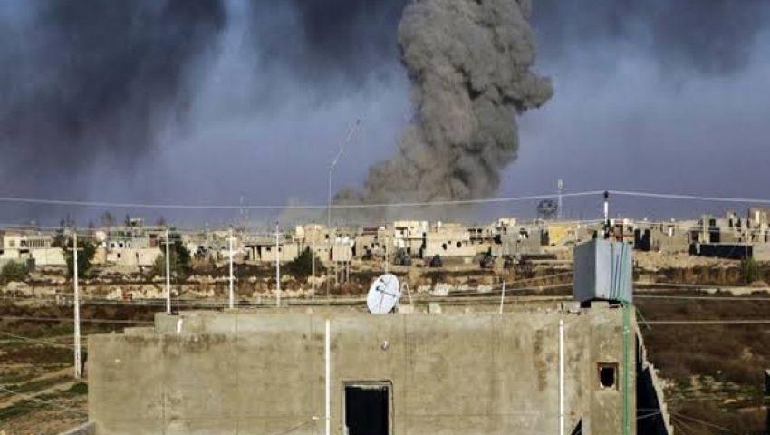 غارة مجهولة تستهدف مخزن أسلحة للحرس الثوري الإيراني بسوريا