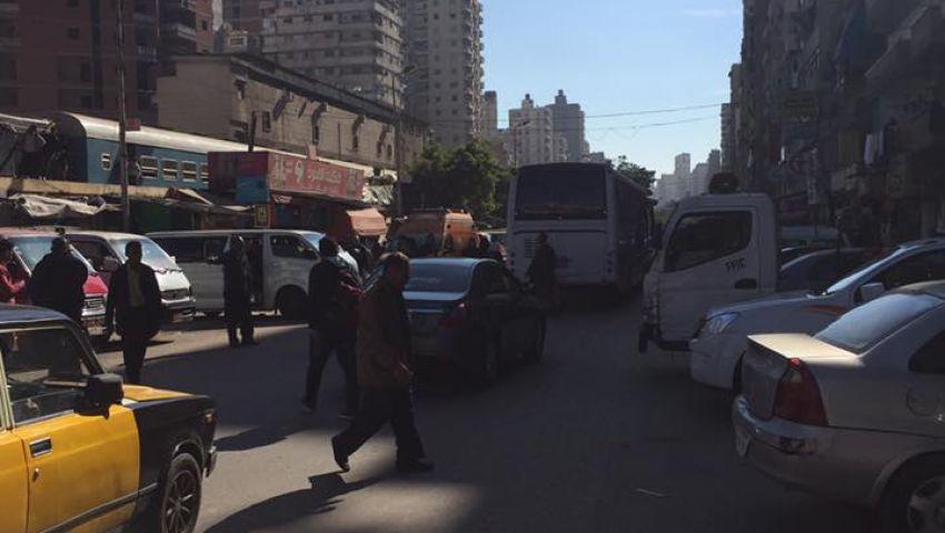 بالصور| القوات الخاصة تفض انتفاضة التموين في العصافرة
