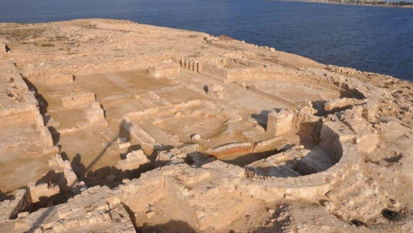 صور: تفاصيل العثور على أقدم كنائس مصر في الإسكندرية