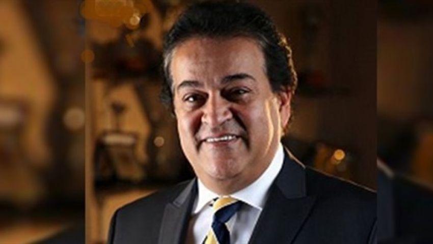 وزير التعليم العالي: تعليم أبناء الشهداء مجانا بالجامعات