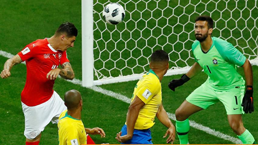بعد مباراة سويسرا| رواد «تويتر»: أداء باهت لـ «السامبا».. وآخرون: «جولة سقوط الكبار»