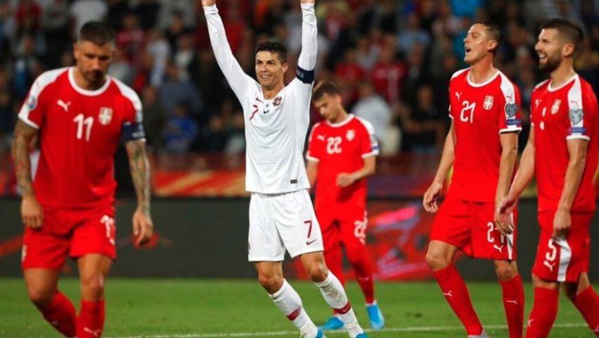 فيديو| تصفيات يورو 2020.. البرتغال تجتاز صربيا برباعية