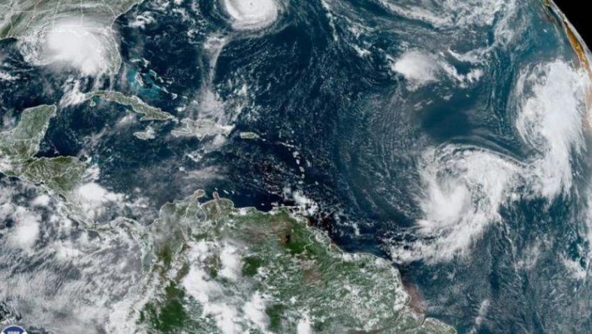 فيديو| الإعصار سالي يشتد مع اقترابه من السواحل الأمريكية