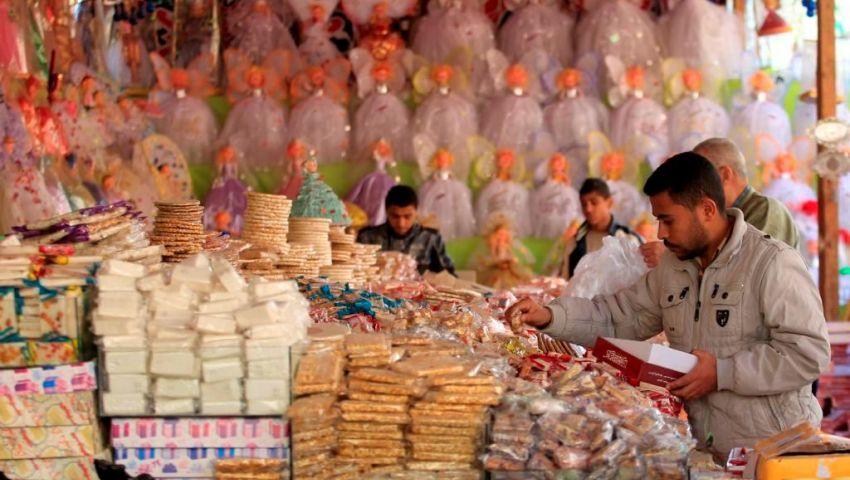 صور| حلوى المولد.. مواطنون: الأسعار نار .. وتجار: الزيادة بسبب المواد الخام