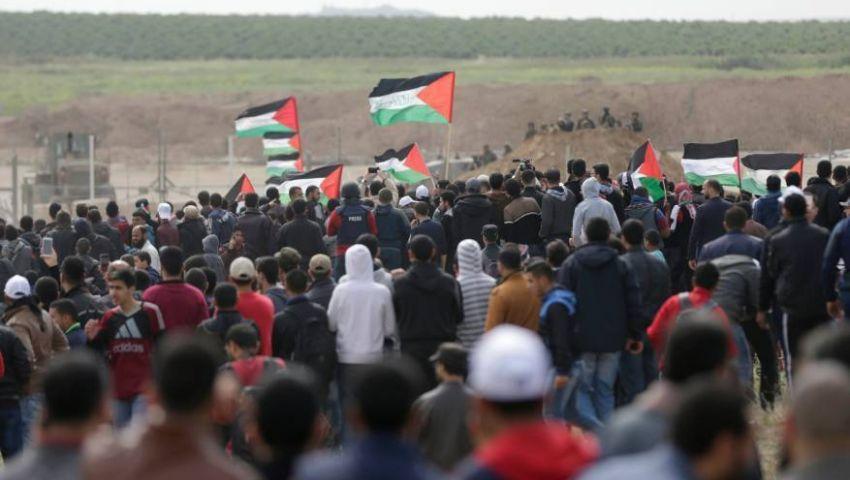 في غزة| غارات واعتقالات ومصاب.. تهديد إسرائيلي وتحشيد فلسطيني