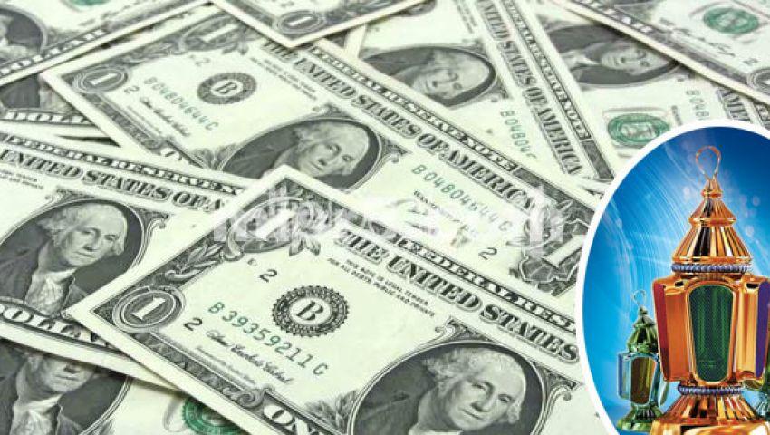 سعر الدولار يستقر في البنوك.. وتخوفات من عودة ارتفاعه بحلول رمضان
