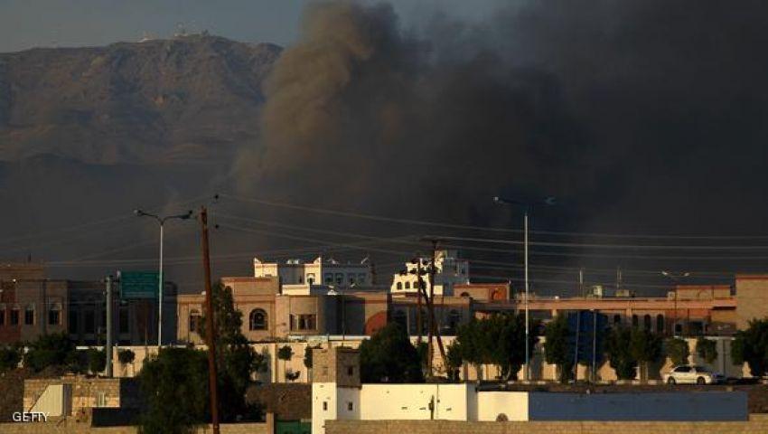 التحالف يقصف مواقع للحوثيين شمالي وغربي تعز