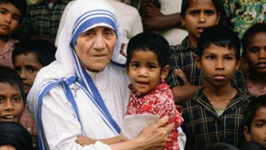 تطويب الأم تيريزا قديسة خلال احتفال فى الفاتيكان