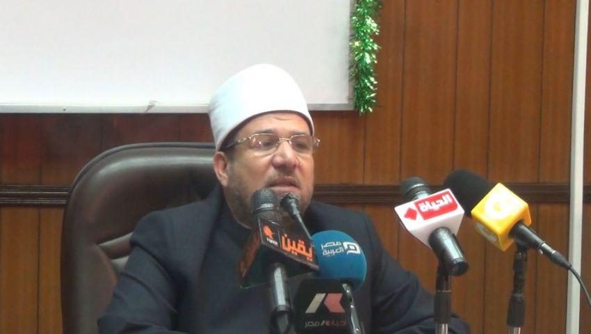 فيديو.. تعليق وزير الأوقاف على استبعاد ابنته من مسابقة التعليم