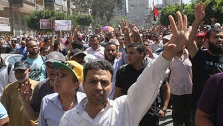 كفر الشيخ تشهد مسيرة وحيدة لـ رافضي الانقلاب