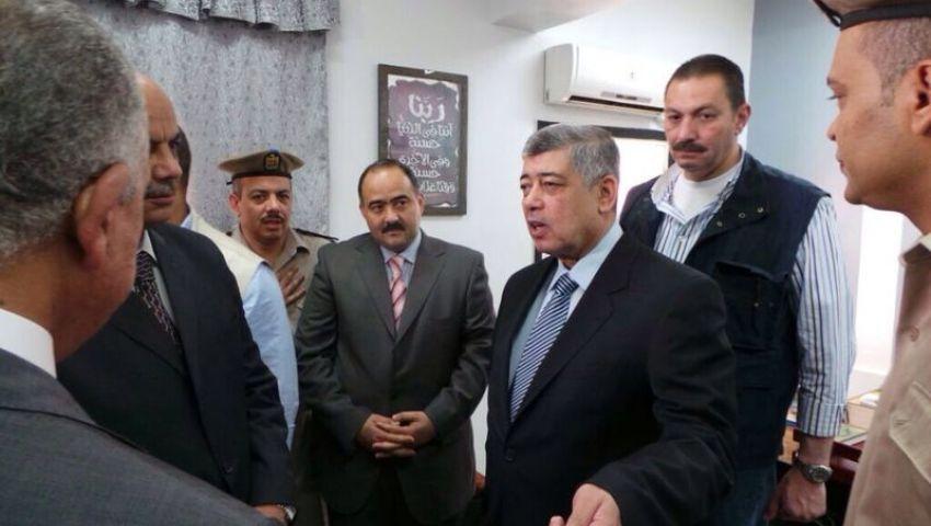 وزير الداخلية يُنهي زيارته المفاجأة لسوهاج