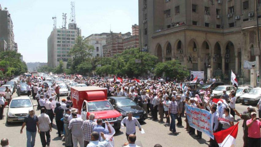 فيديو.مؤيدو مرسي: السيسي عدو الله