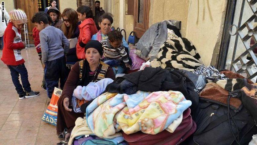 نزوح 120 أسرة مسيحية من العريش.. واستفار أمني بأحياء سيناء