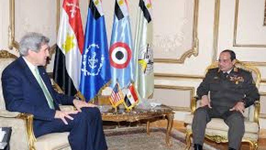 الخارجية الأمريكية: نعمل مع حكومة الببلاوي للدفع نحو الديمقراطية