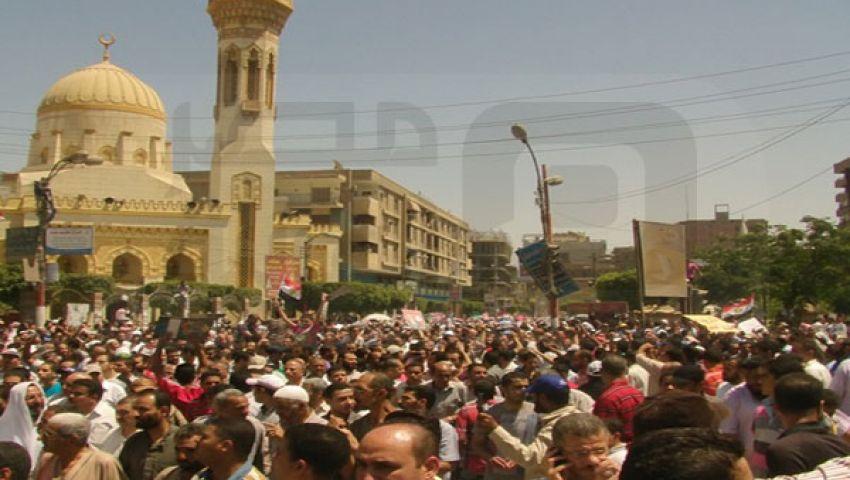 مظاهرات حاشدة تأييدا لمرسي في بني سويف