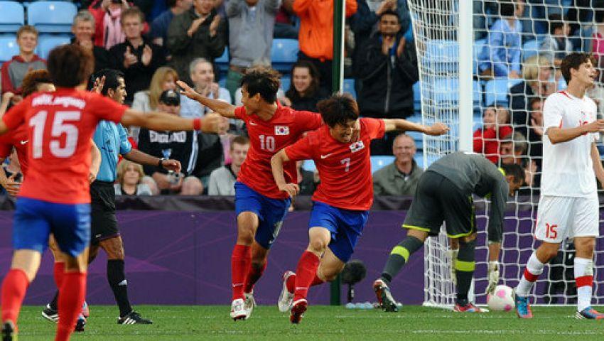 فيديو..كوريا تهزم سويسرا ودياً