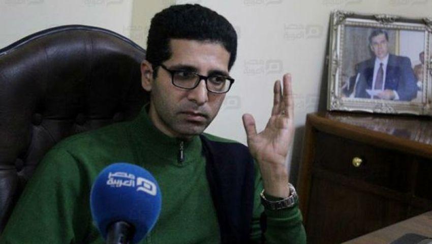 هيثم الحريري يكشف ملابسات الأزمة مع عبد العال