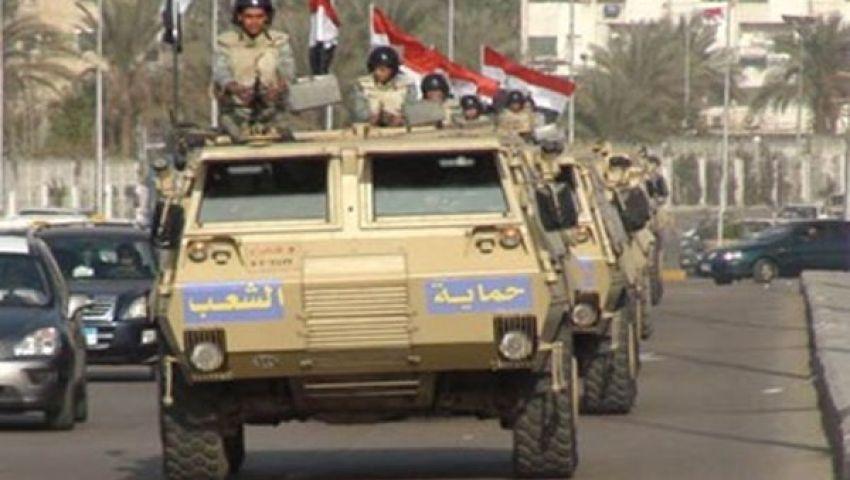 الجيش يسيطر على جميع مداخل ومخارج مدن محافظة أسيوط