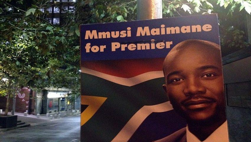 أول زعيم أسود لـ حزب البيض يهدد حكومة جنوب إفريقيا