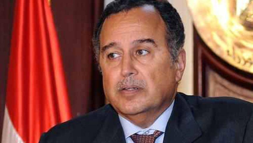وزير الخارجية المصرى يعود للقاهرة