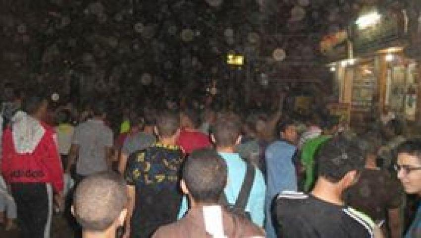 بالصور.. الميمون تحتفل بانسحاب اﻷمن من القرية
