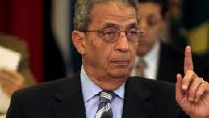 موسى ينتقد خطاب مرسى.. ويجدد الدعوة لانتخابات رئاسية مبكرة
