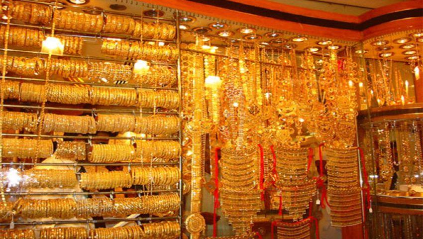 محلات الذهب بالفيوم بلا زبائن في العيد