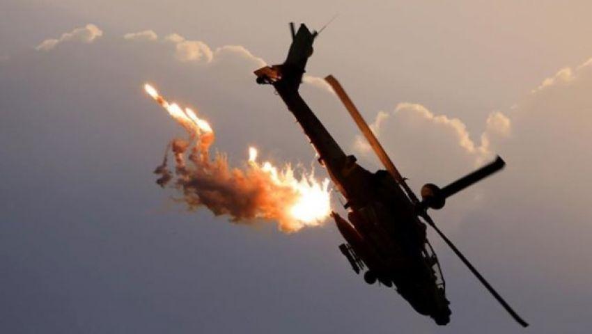 طائرات التحالف تقصف أهدافاً لداعش في كوباني