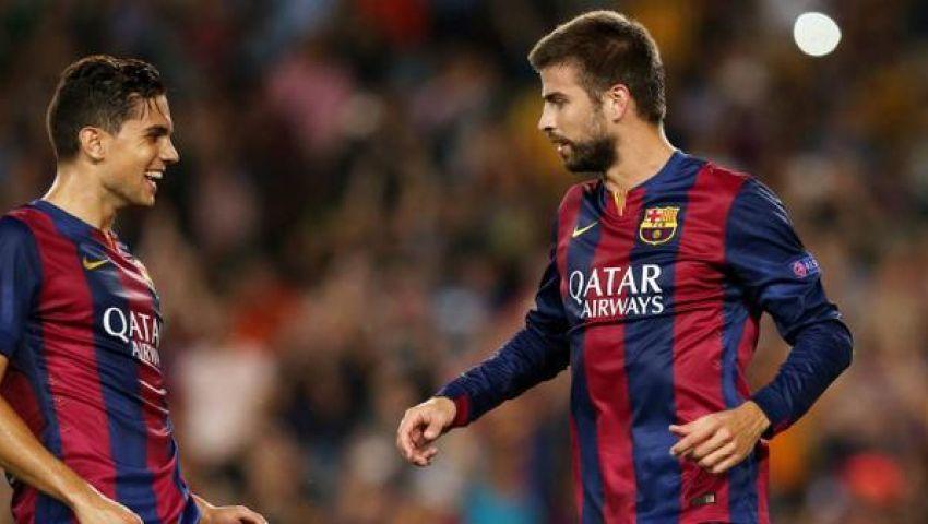 فيديو..فوز هزيل لبرشلونة على أبويل فى التشامبيونزليج