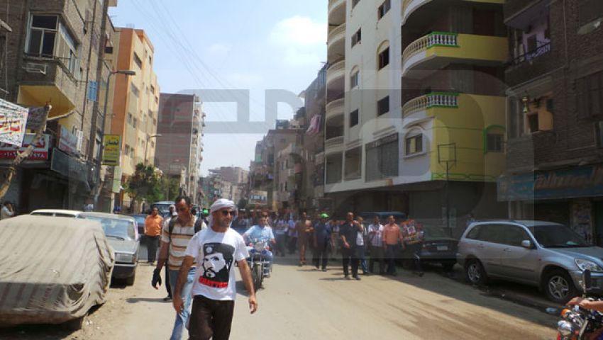 أهالي المطرية بين مساند ومعارض لمسيرة مؤيدة لمرسي