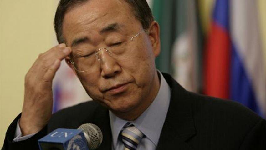 بان كي مون: قلق من انتهاكات القوات الموالية للجيش العراقي