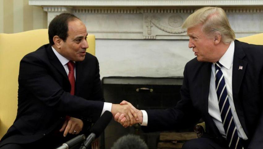 خلال لقائه السيسي.. ترامب: مصر حققت تقدمًا كبيرًا في مكافحة الإرهاب