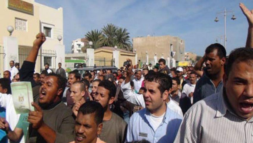 مسيرة للإخوان المسلمين في الفيوم